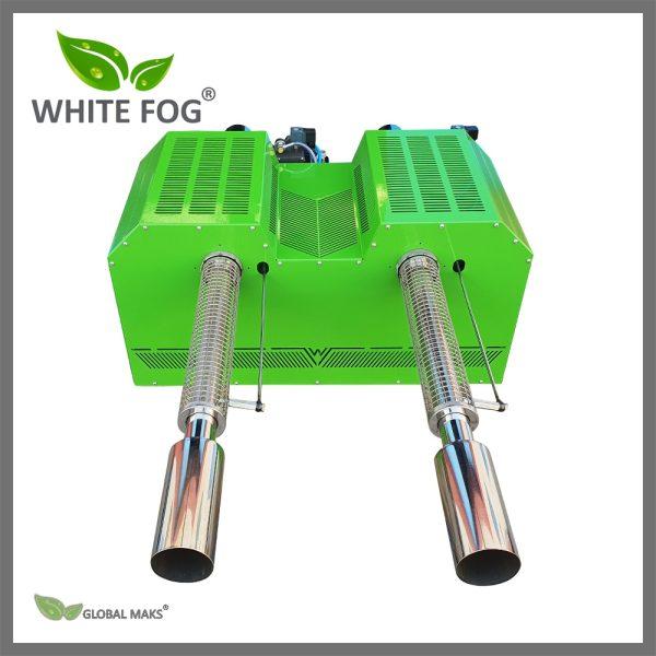 İki çıkışlı, termal sisleme ilaçlama makinesi