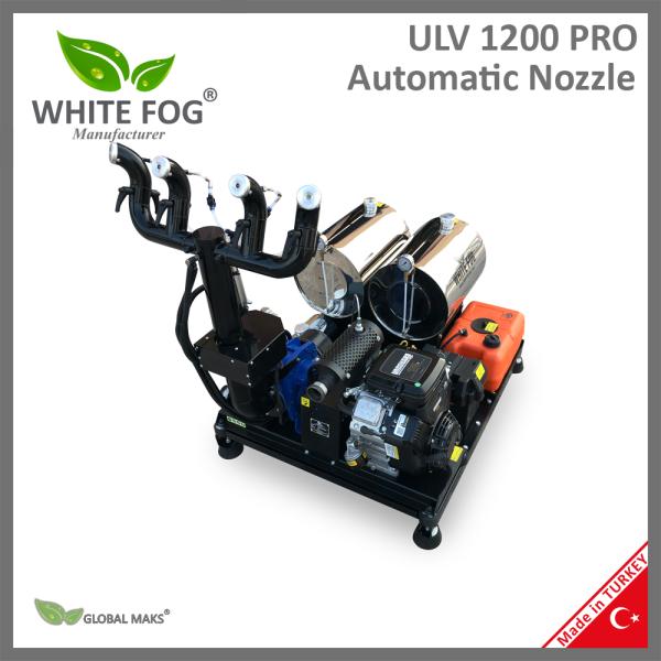 Otomatik döner başlıklı ULV ilaçlama makinesi